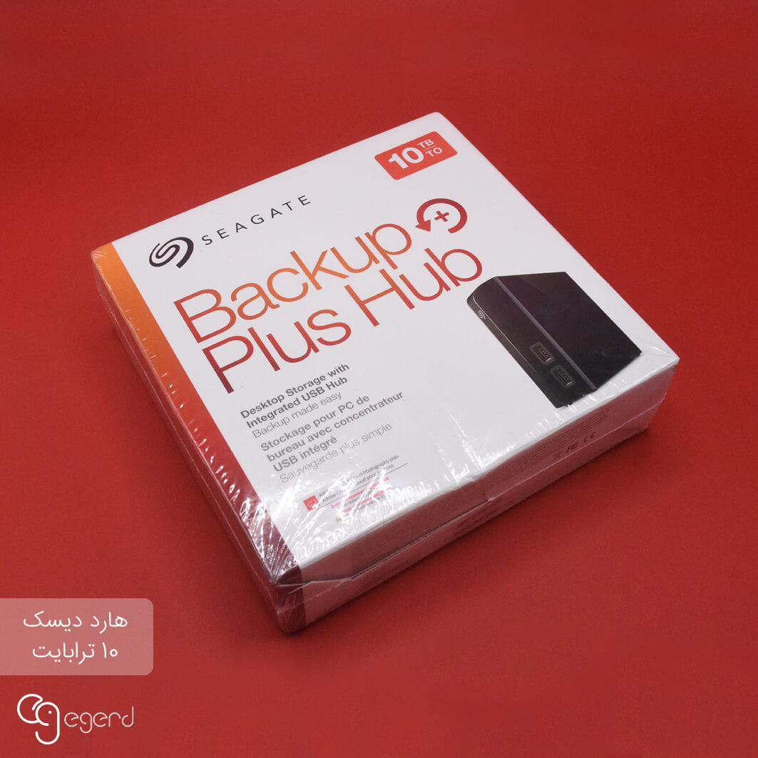 هارد اکسترنال Seagate Backup Plus Hub 10TB